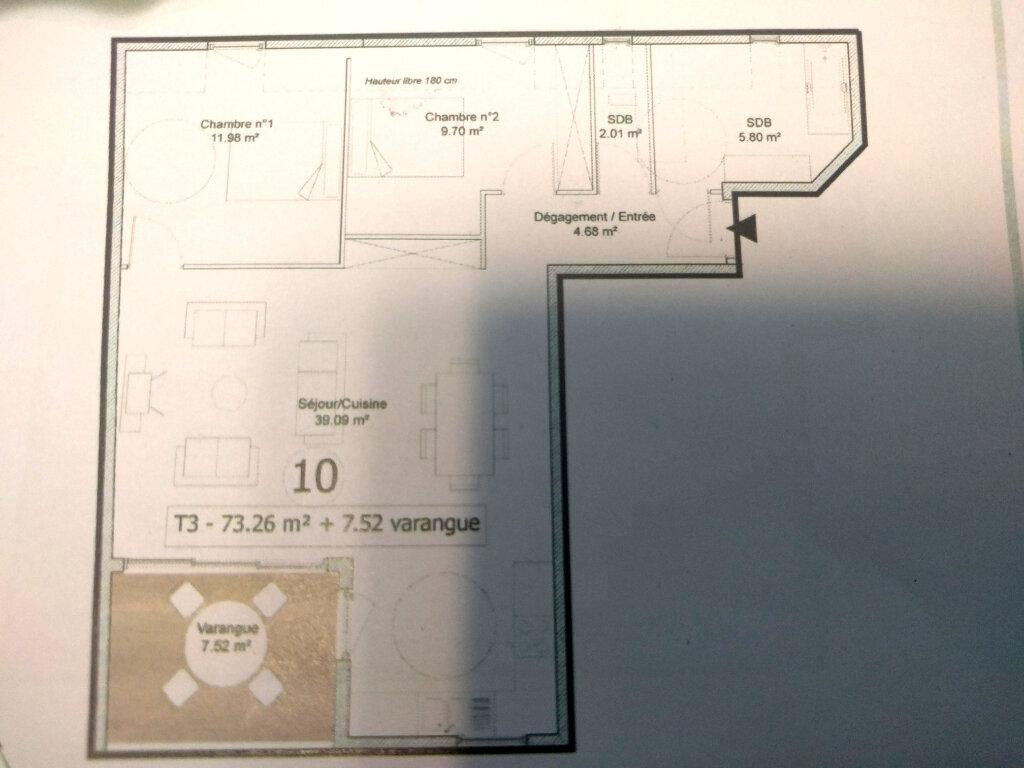 Appartement à vendre 3 73.28m2 à Saint-Pierre vignette-3