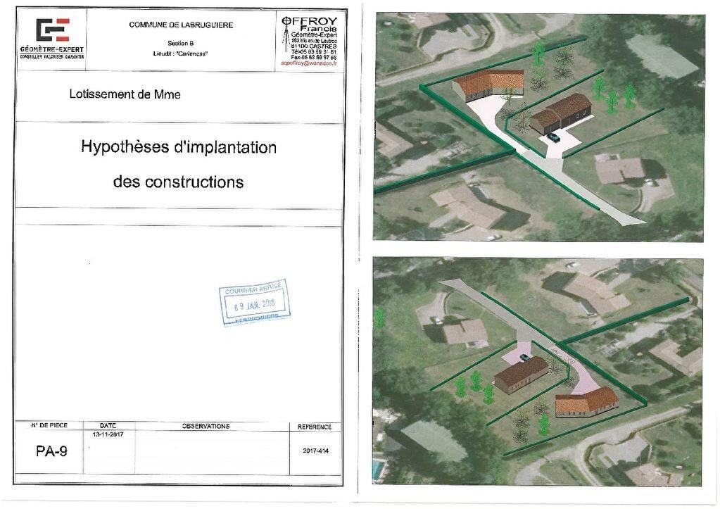 Terrain à vendre 0 1140m2 à Labruguière vignette-1