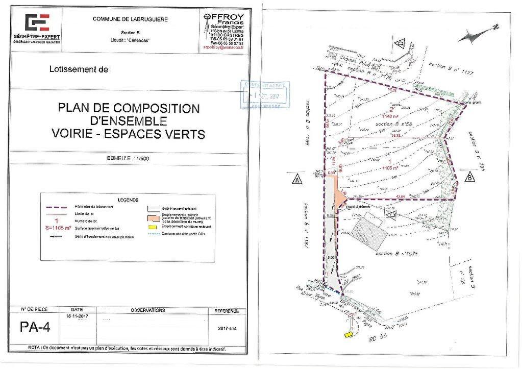 Terrain à vendre 0 1140m2 à Labruguière vignette-7