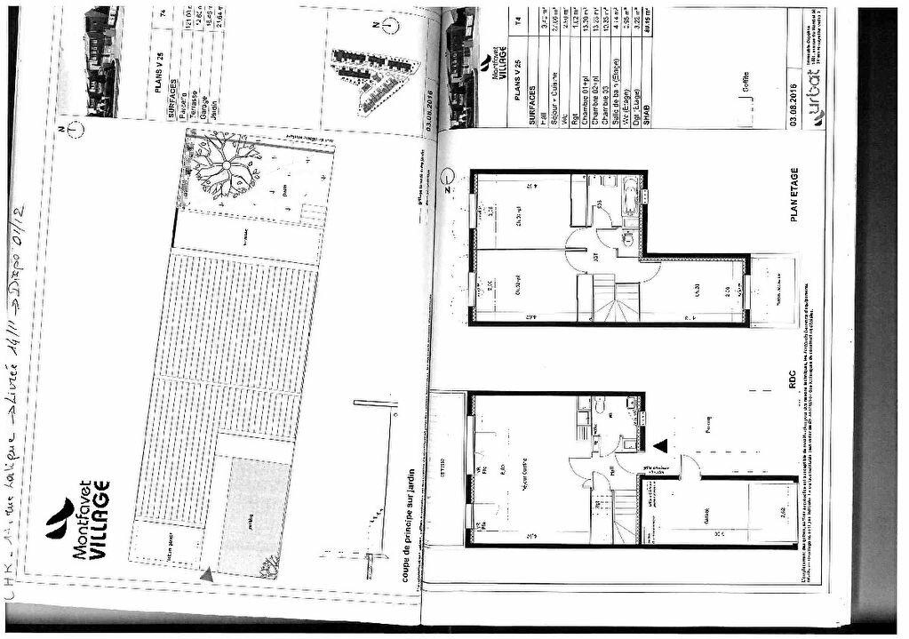 Maison à louer 4 80.15m2 à Montfavet - Avignon vignette-4