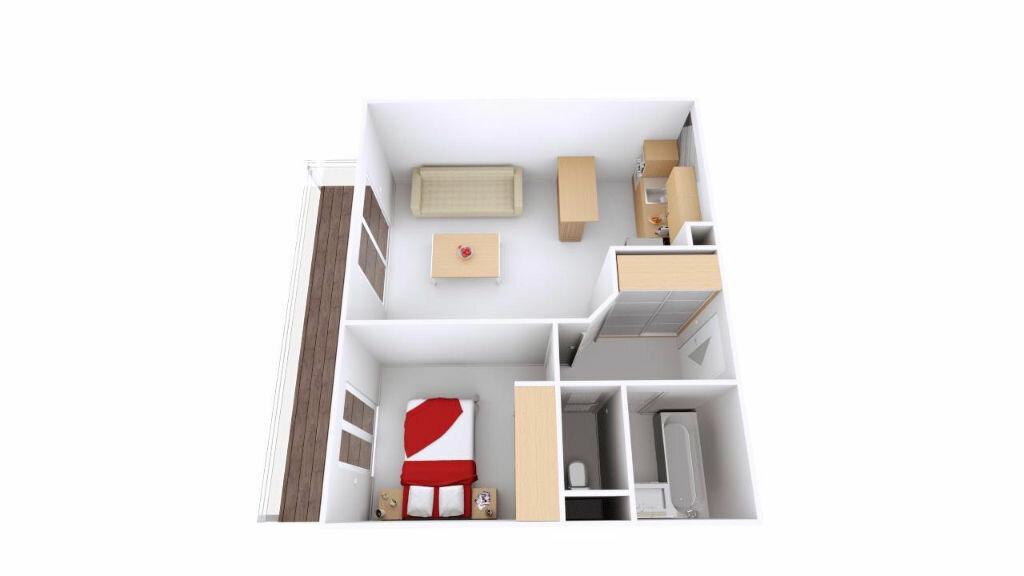 Appartement à vendre 2 40m2 à Antibes vignette-9