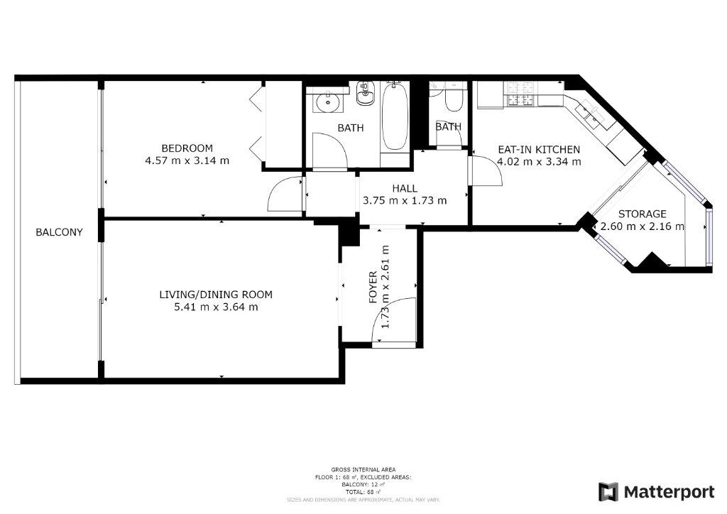 Appartement à vendre 2 58.9m2 à Juan-les-Pins - Antibes vignette-9