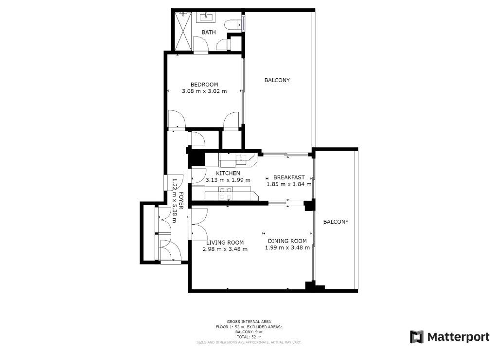 Appartement à vendre 2 48m2 à Juan-les-Pins - Antibes vignette-9