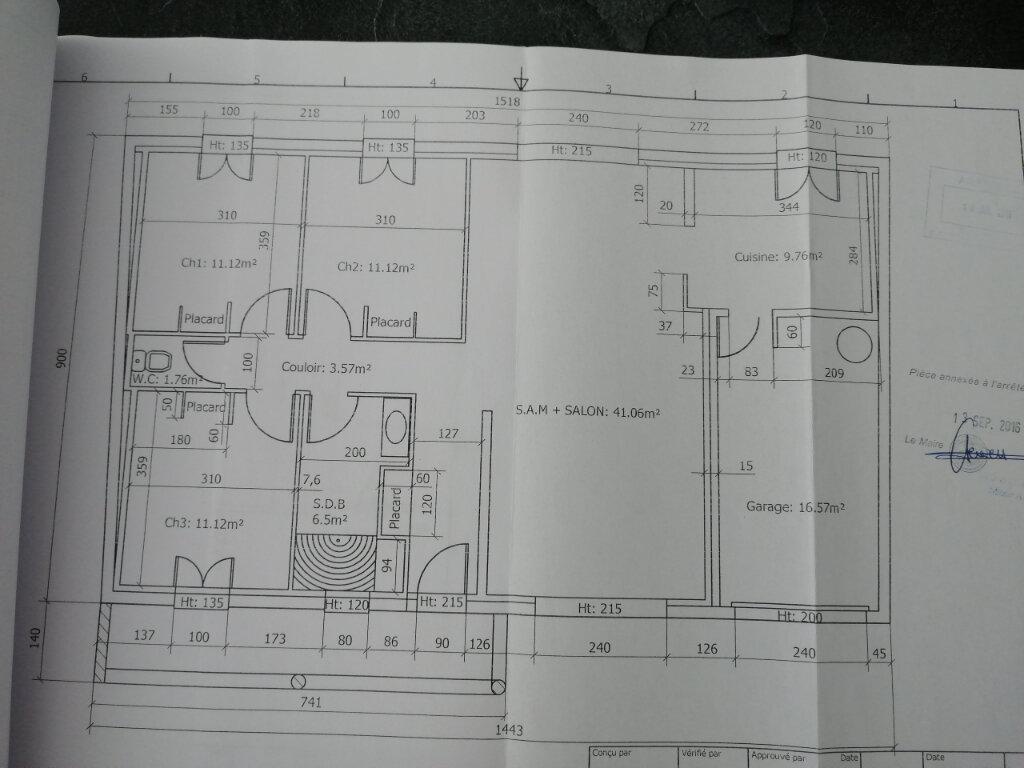 Maison à vendre 4 100m2 à Tonnay-Charente plan-1