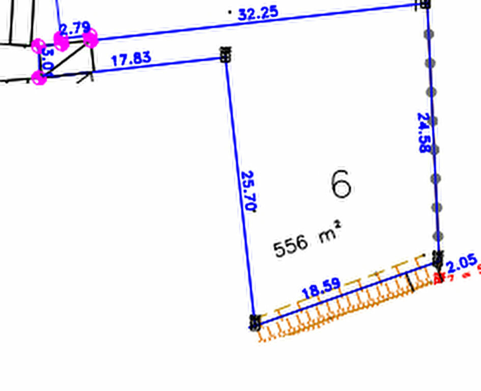 Terrain à vendre 0 556m2 à Moragne vignette-2