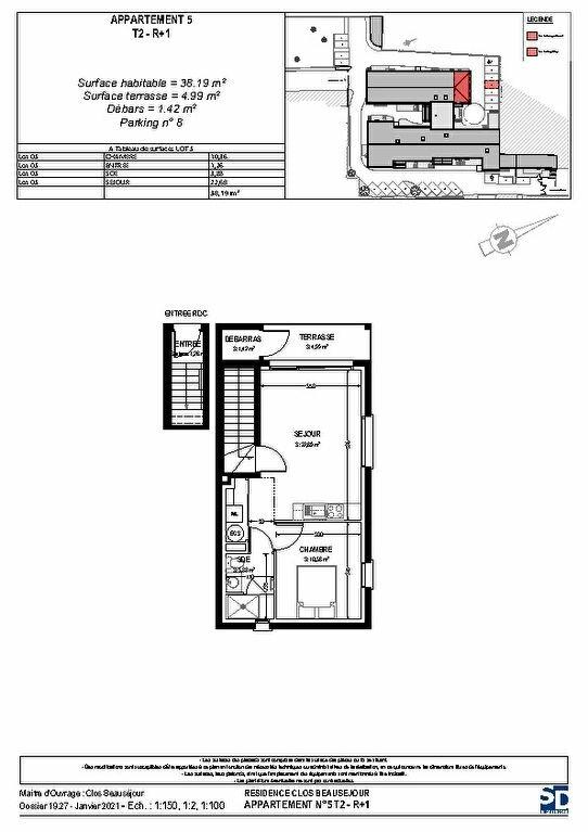 Appartement à vendre 2 40m2 à Rochefort vignette-2