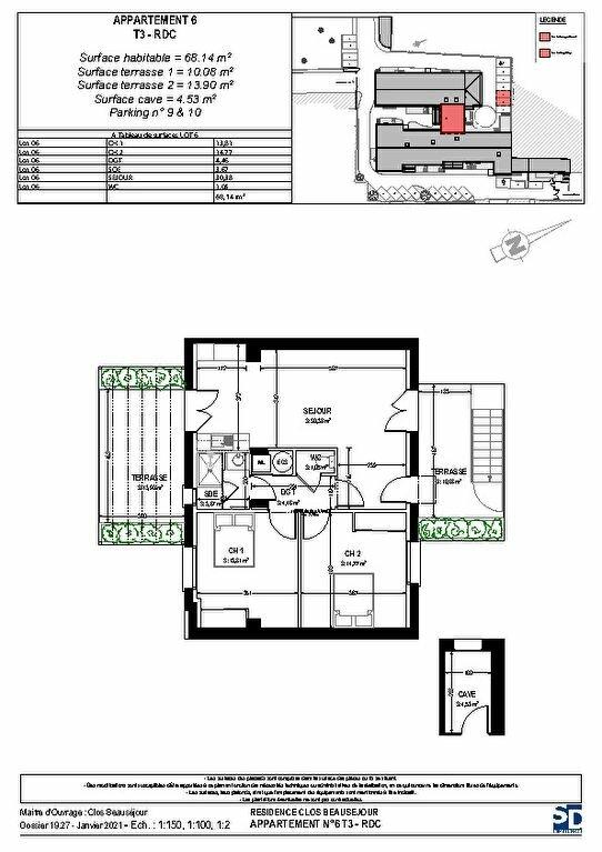 Appartement à vendre 3 68m2 à Rochefort vignette-2