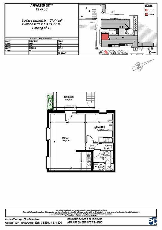 Appartement à vendre 2 57.76m2 à Rochefort vignette-2