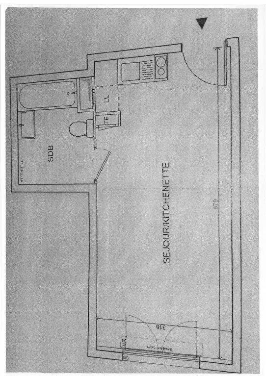 Appartement à louer 1 26.46m2 à Sevran vignette-3