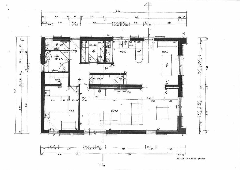 Maison à vendre 6 180m2 à Hasparren plan-1