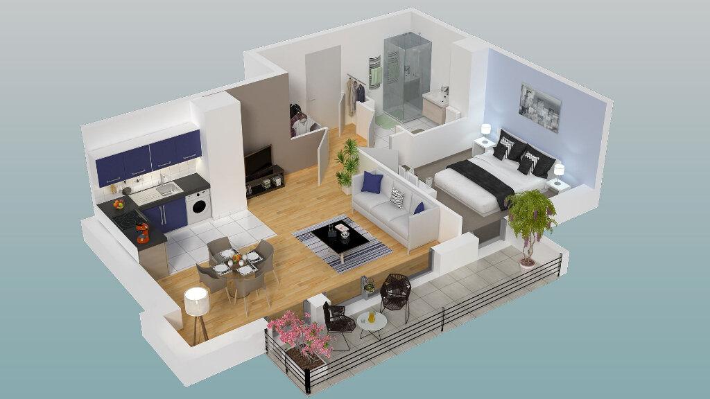 Appartement à vendre 2 45.62m2 à Dieppe vignette-2