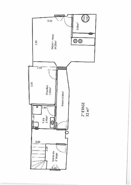 Immeuble à vendre 0 142.6m2 à Brignoles plan-1