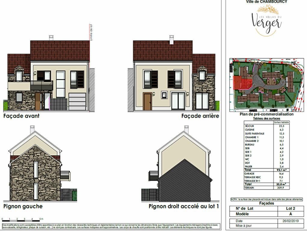 Maison à vendre 6 141m2 à Chambourcy vignette-2