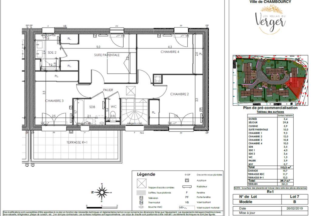 Maison à vendre 6 113.2m2 à Chambourcy vignette-3