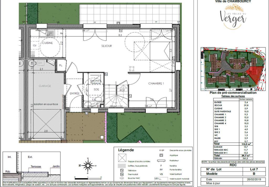 Maison à vendre 6 113.2m2 à Chambourcy vignette-4