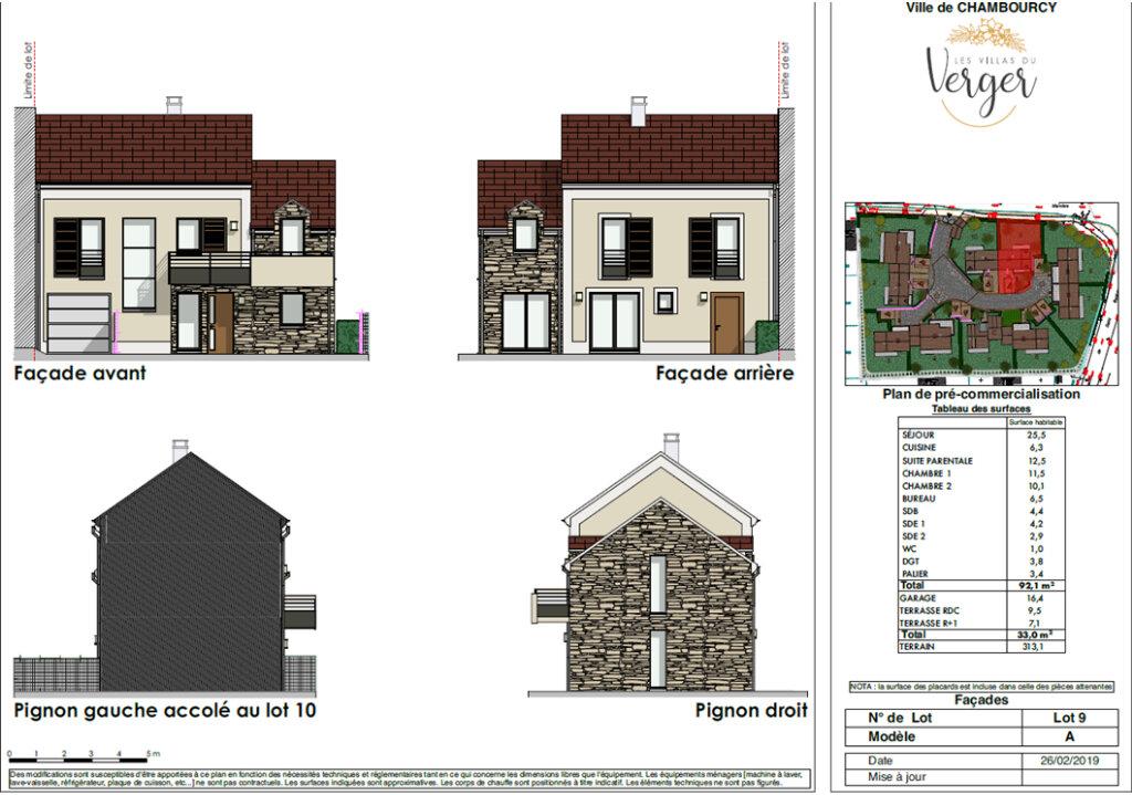 Maison à vendre 4 92.1m2 à Chambourcy vignette-2