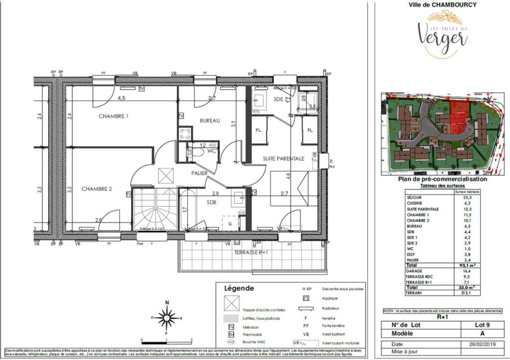 Maison à vendre 4 92.1m2 à Chambourcy vignette-3