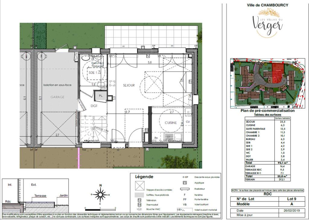 Maison à vendre 4 92.1m2 à Chambourcy vignette-4