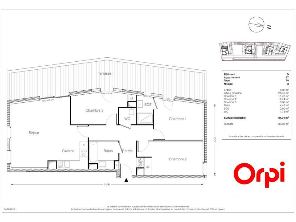Appartement à vendre 4 81.94m2 à Ecquevilly vignette-1