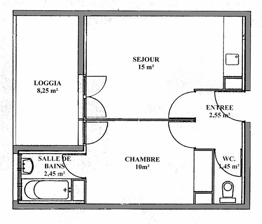 Appartement à louer 2 32m2 à Montpellier vignette-5