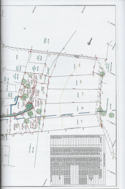 Terrain à vendre 0 1336m2 à Sainte-Anne plan-1
