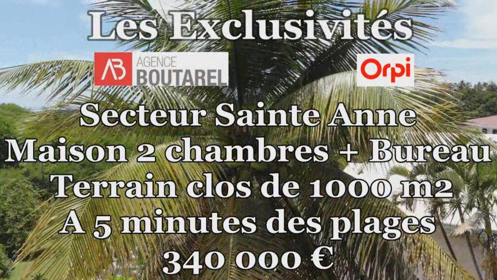 Maison à vendre 4 106m2 à Sainte-Anne vignette-15