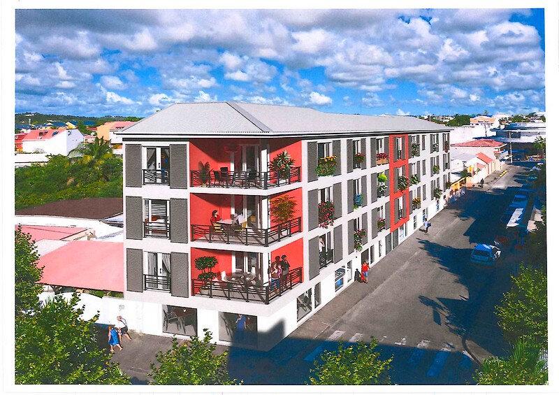 Appartement à vendre 1 64.02m2 à Saint-François vignette-1