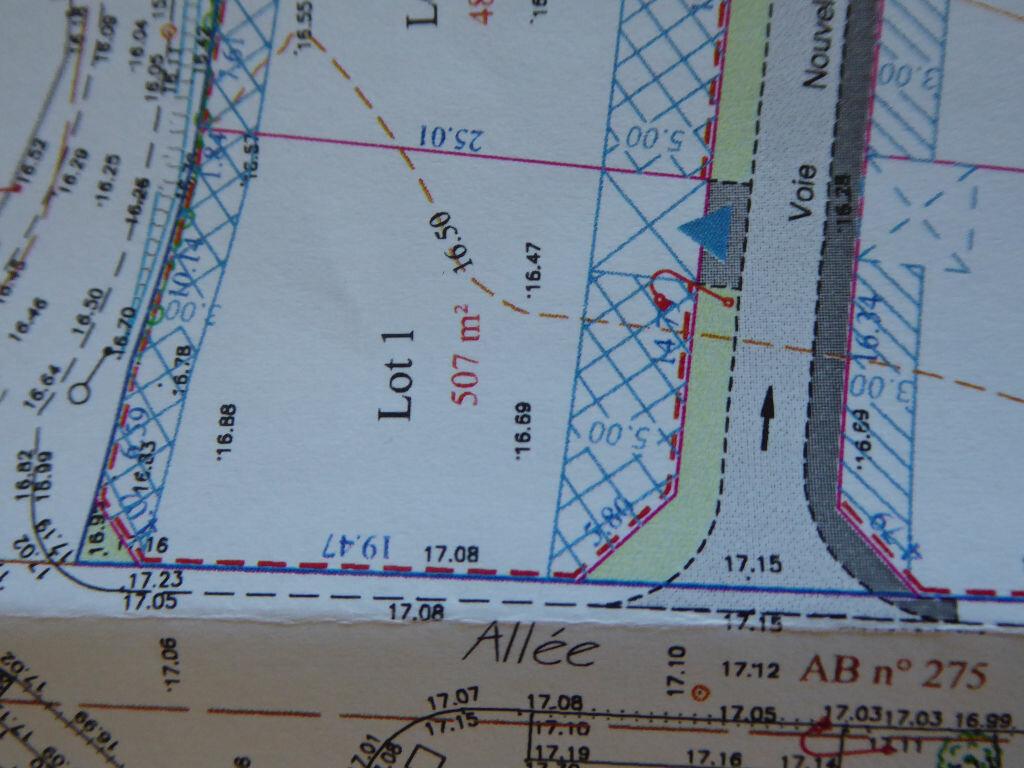Terrain à vendre 0 507m2 à Saint-Agnant vignette-2