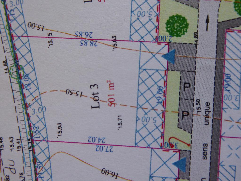 Terrain à vendre 0 501m2 à Saint-Agnant vignette-2