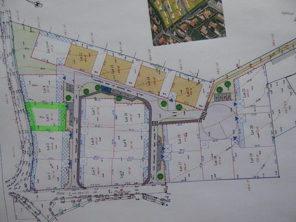 Terrain à vendre 0 501m2 à Saint-Agnant vignette-3