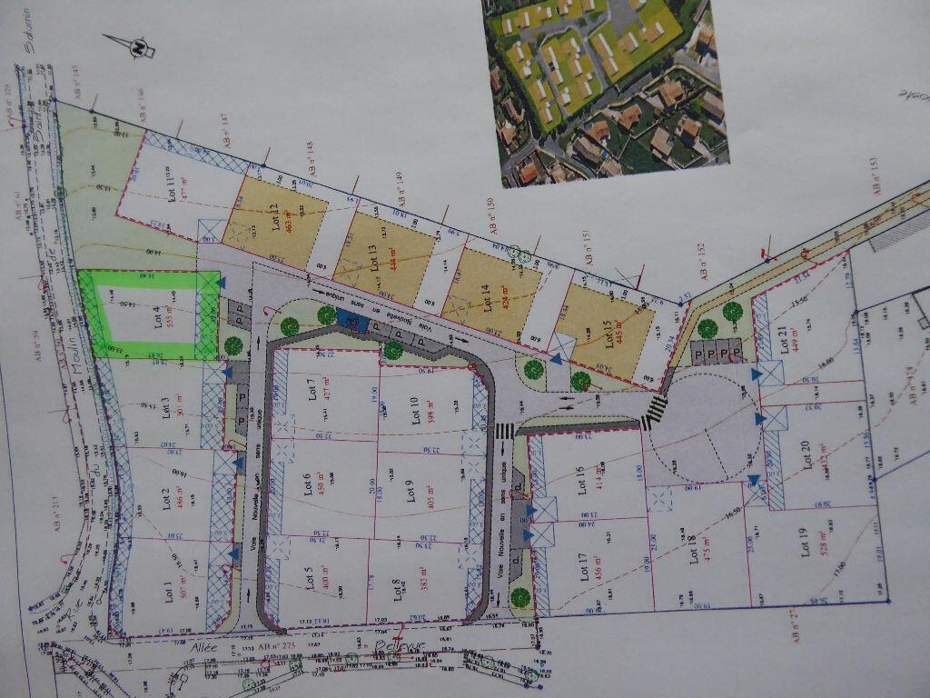 Terrain à vendre 0 555m2 à Saint-Agnant vignette-3