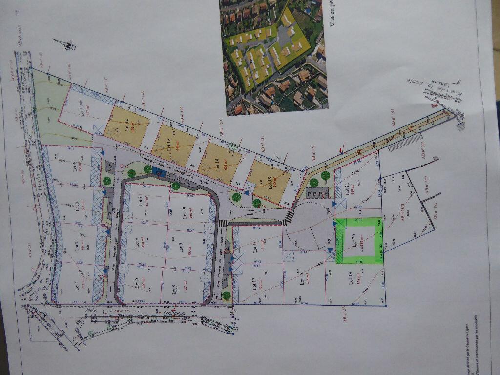 Terrain à vendre 0 432m2 à Saint-Agnant vignette-3