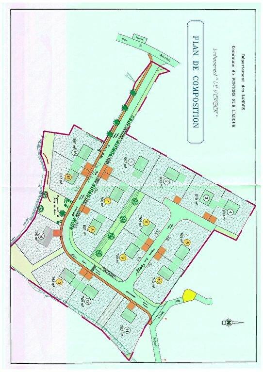 Terrain à vendre 0 793m2 à Pontonx-sur-l'Adour vignette-2