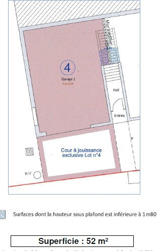 Stationnement à louer 0 52m2 à Bayonne vignette-4