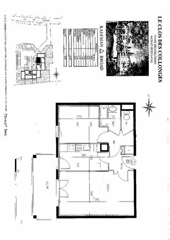 Appartement à louer 2 47.59m2 à Saint-Genis-Laval vignette-6