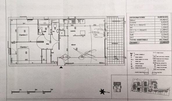 Appartement à vendre 3 66.23m2 à Montfavet - Avignon vignette-3