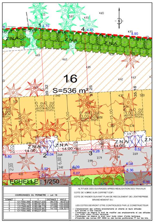 Terrain à vendre 0 536m2 à Saint-Jean-de-Monts vignette-3