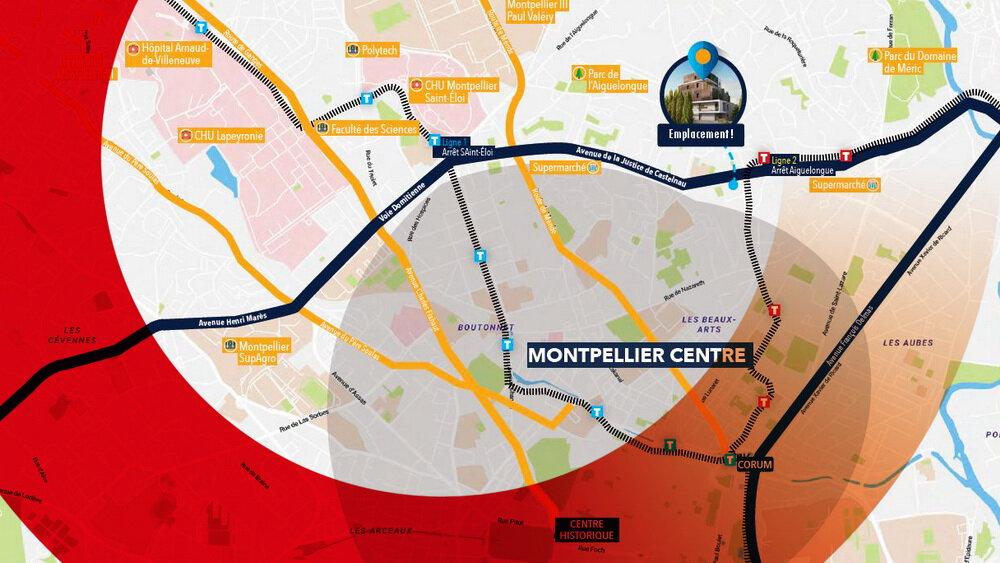 Appartement à vendre 3 64.65m2 à Montpellier vignette-2