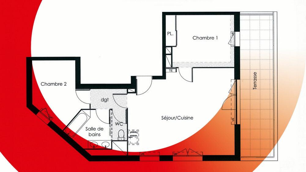 Appartement à vendre 3 64.65m2 à Montpellier vignette-6