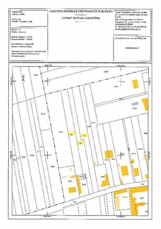 Terrain à vendre 0 5300m2 à Châtillon-sur-Cher vignette-2