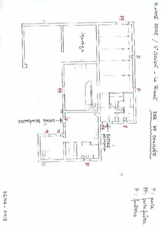 Maison à vendre 8 316m2 à Saint-Julien-sur-Garonne plan-2