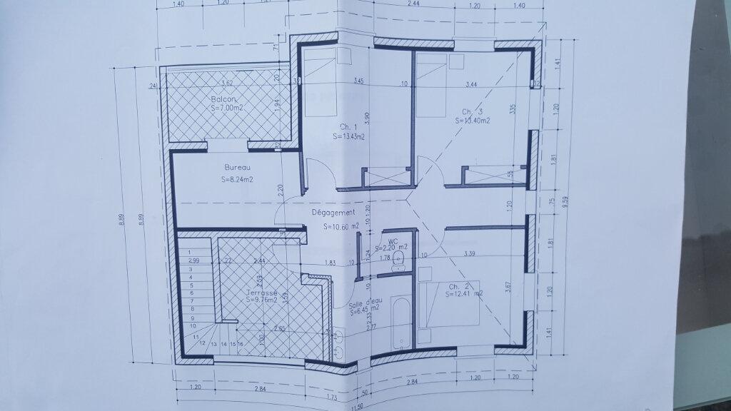 Maison à vendre 6 154m2 à Carbonne plan-2