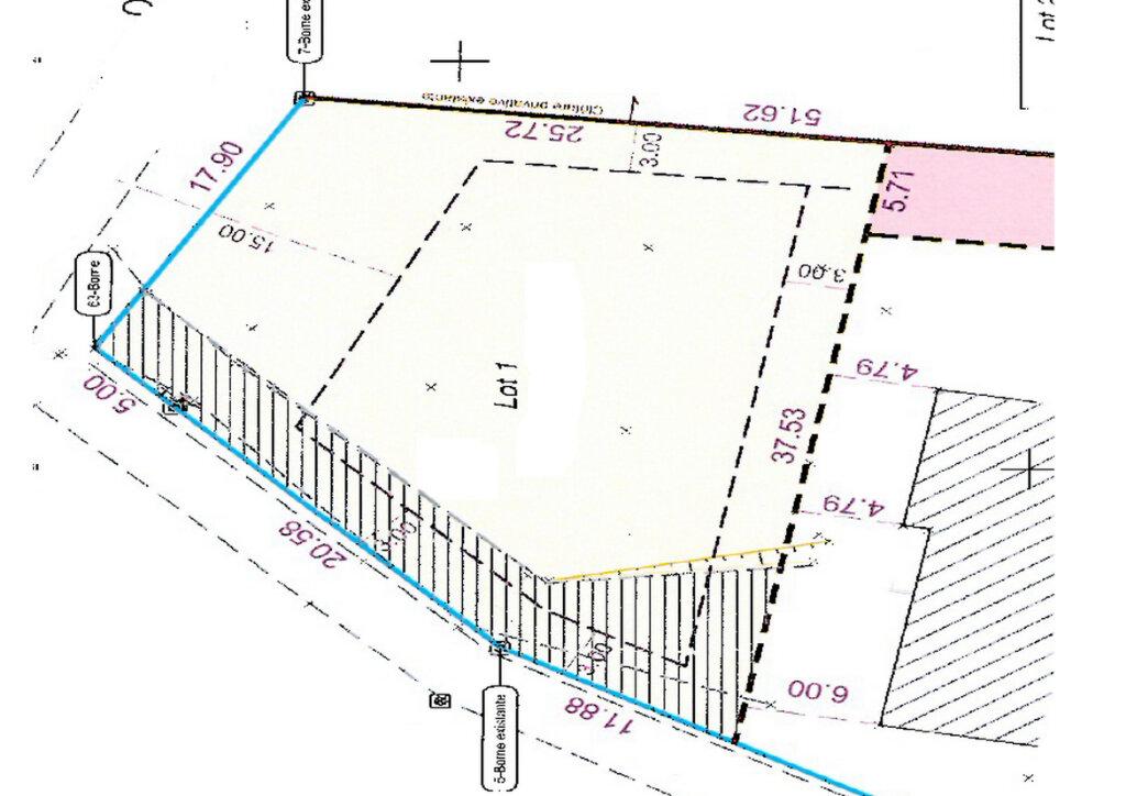 Terrain à vendre 0 850m2 à Castelnau-d'Estrétefonds plan-1