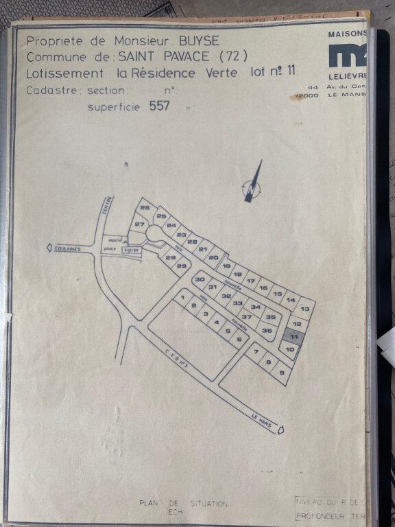 Maison à vendre 5 82m2 à Saint-Pavace plan-1