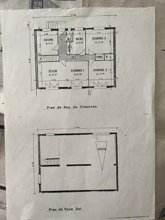 Maison à vendre 5 82m2 à Saint-Pavace plan-2