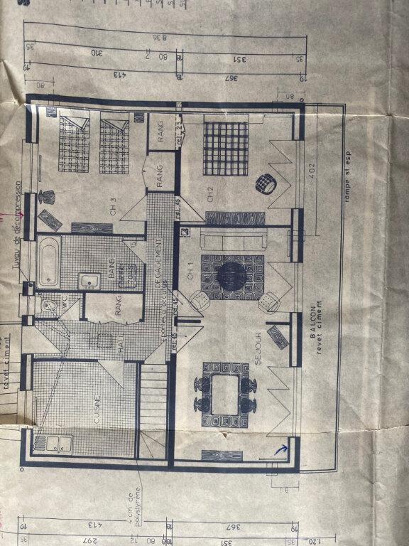 Maison à vendre 5 82m2 à Saint-Pavace plan-3