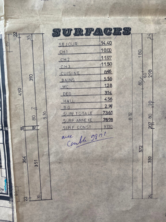 Maison à vendre 5 82m2 à Saint-Pavace plan-4