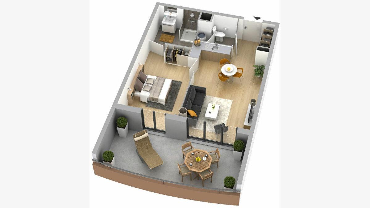 Achat Appartement 1 pièce à Ajaccio - vignette-4