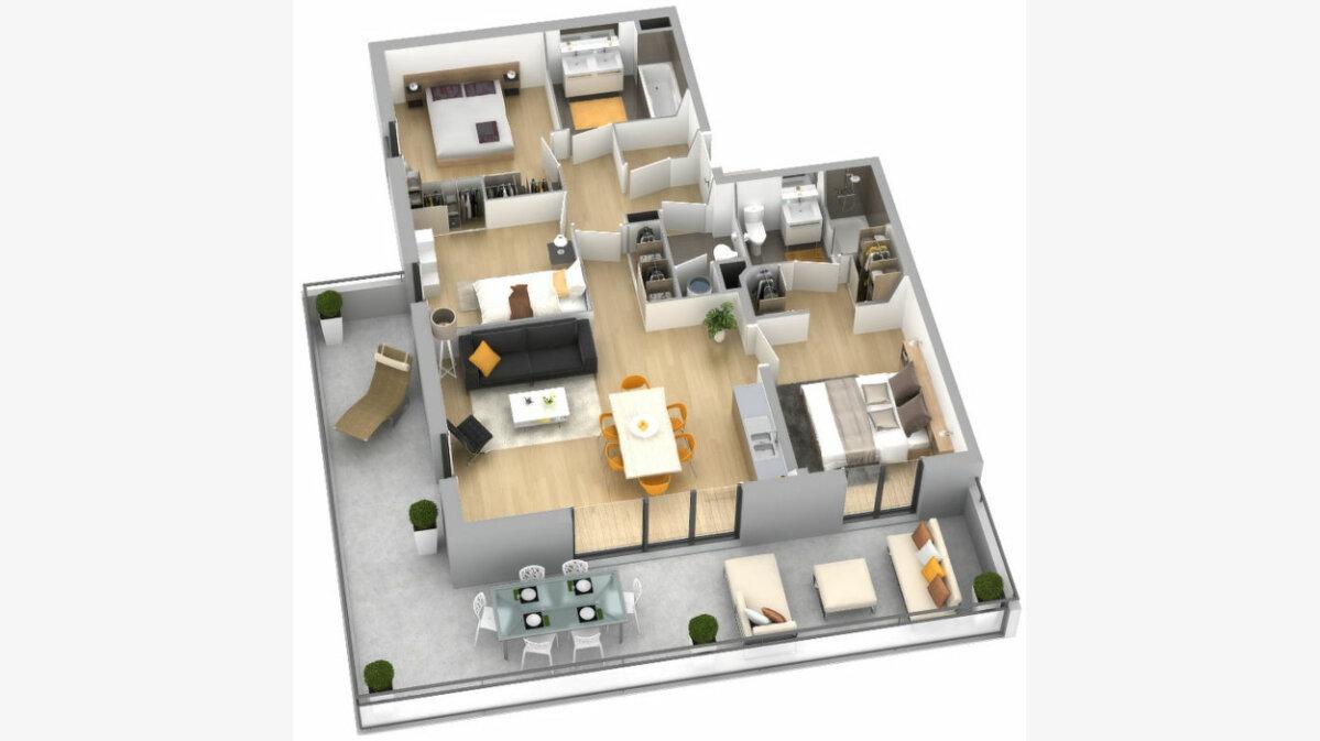 Achat Appartement 1 pièce à Ajaccio - vignette-6