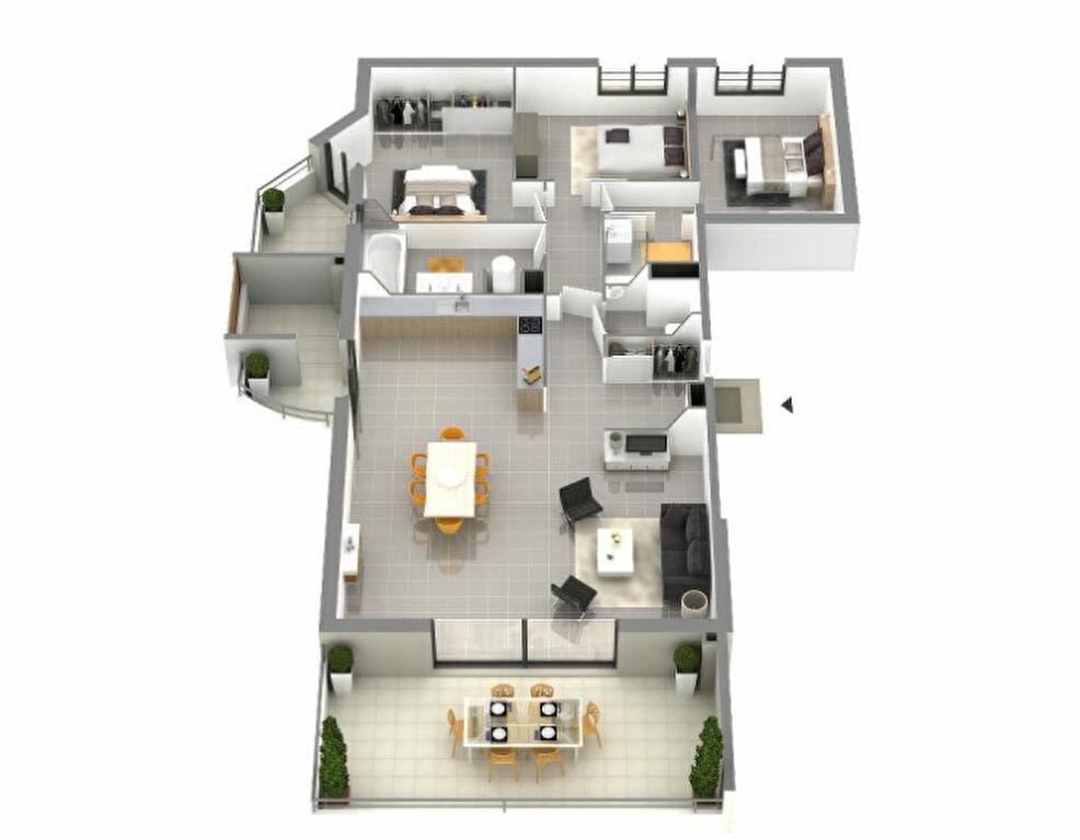 Achat Appartement 4 pièces à Ajaccio - vignette-2